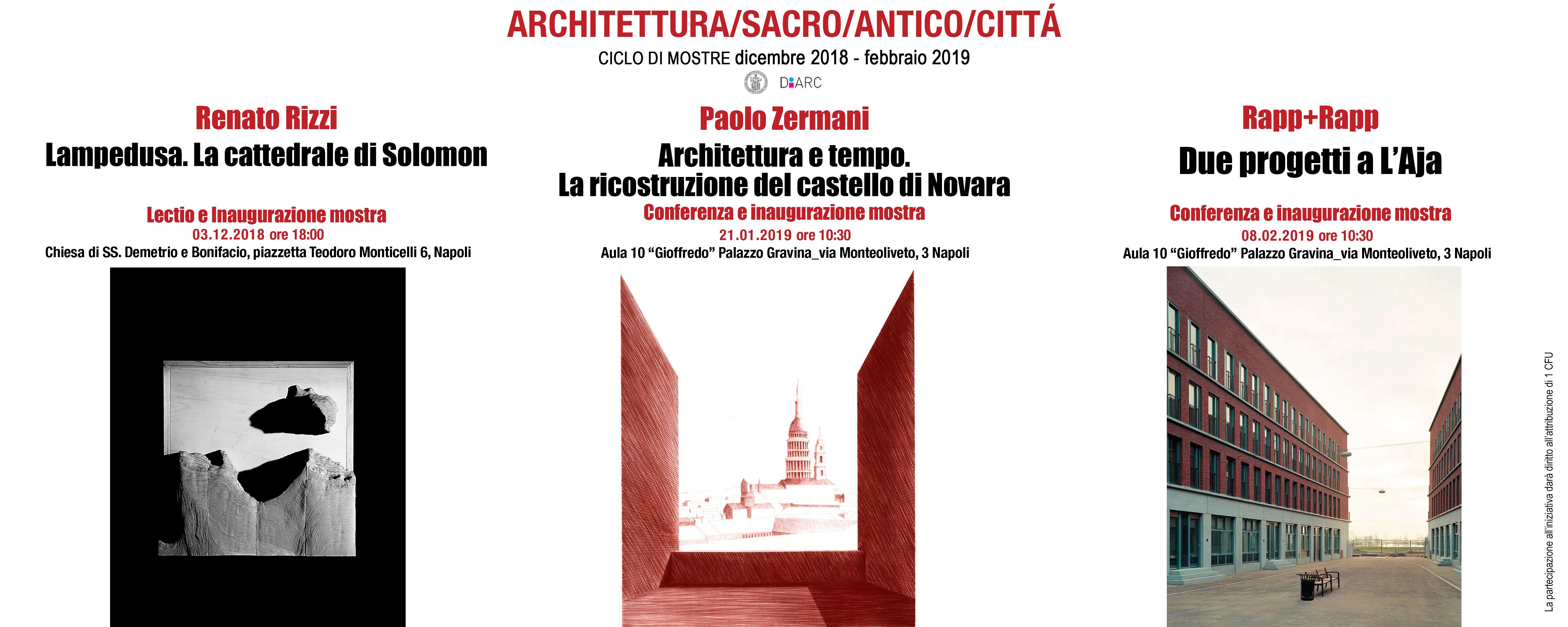 Ciclo di mostre attivita 39 a crediti liberi for Programma di architettura