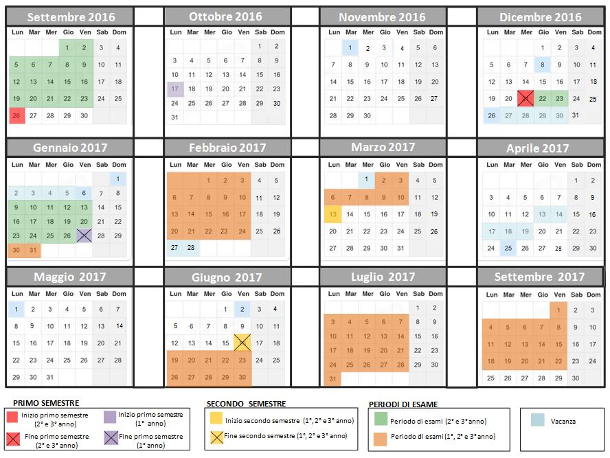 Calendario Unifi Economia.Unifi Calendario Didattico Ikbenalles